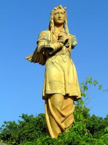 angyal-szobor